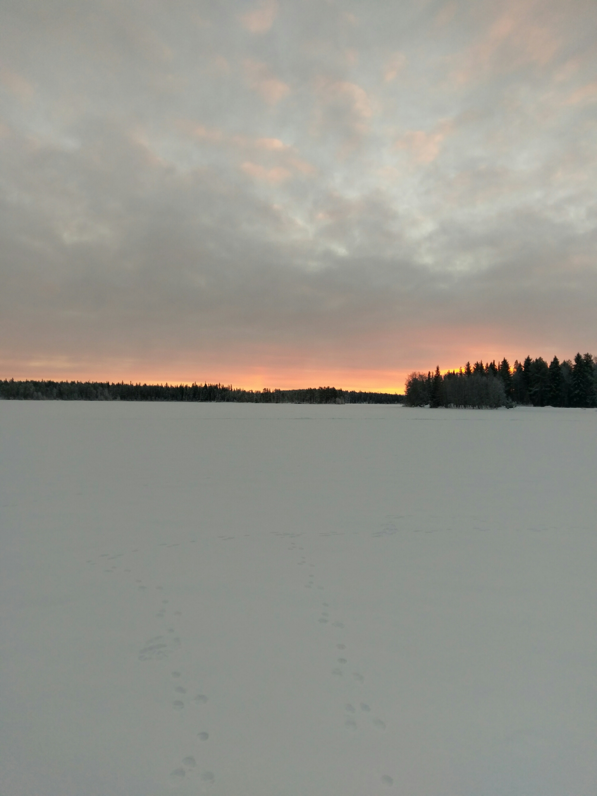 Winter fishing at Ollila Holiday Cottages