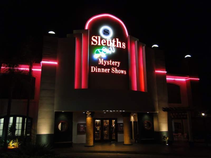 Sleuths Mystery Dinner Shows, Orlando, Florida.