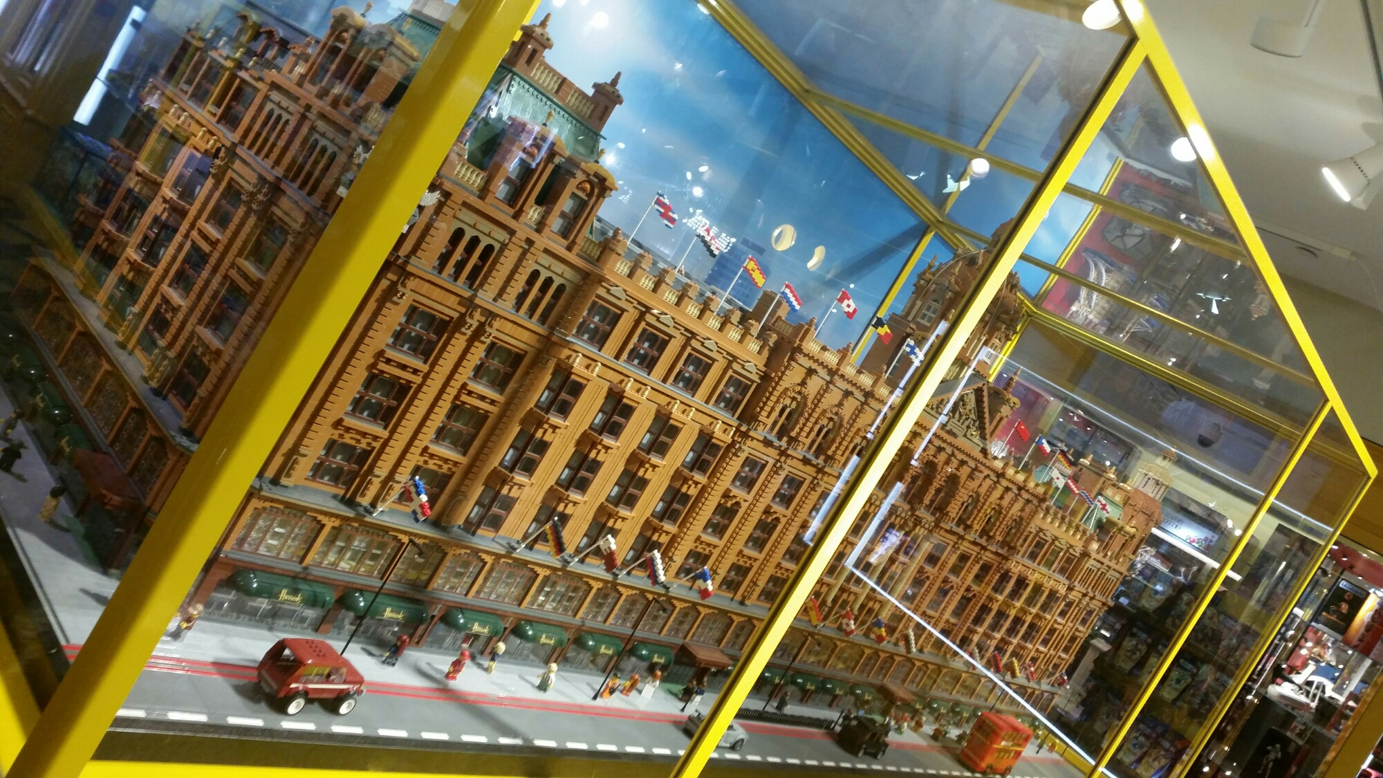 Harrods Toy Department, London