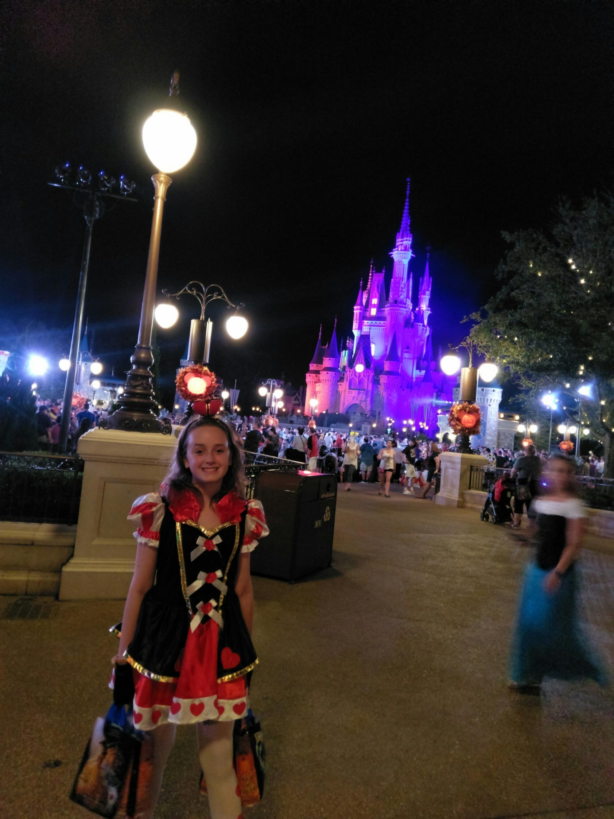 Mickey's Not-So-Scary Halloween Party at Disney World, Florida!