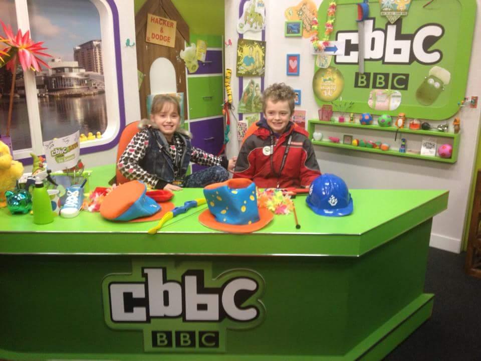 CBBC Tour at Media City, Salford
