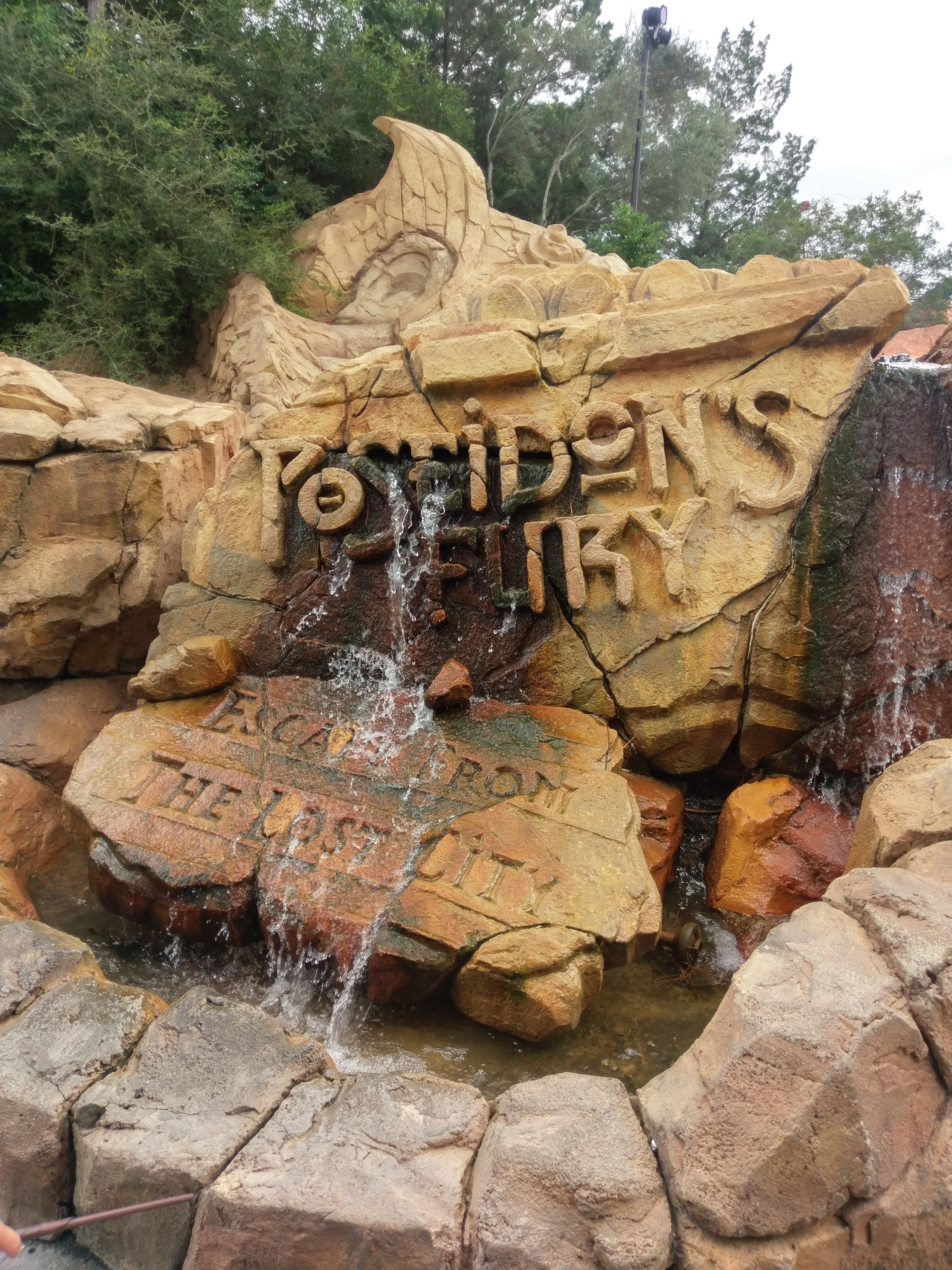 Taking an autistic child to Poseidon's Fury at Universal Island of Adventures