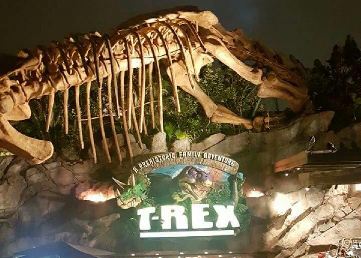 T-Rex, Disney Springs, Orlando