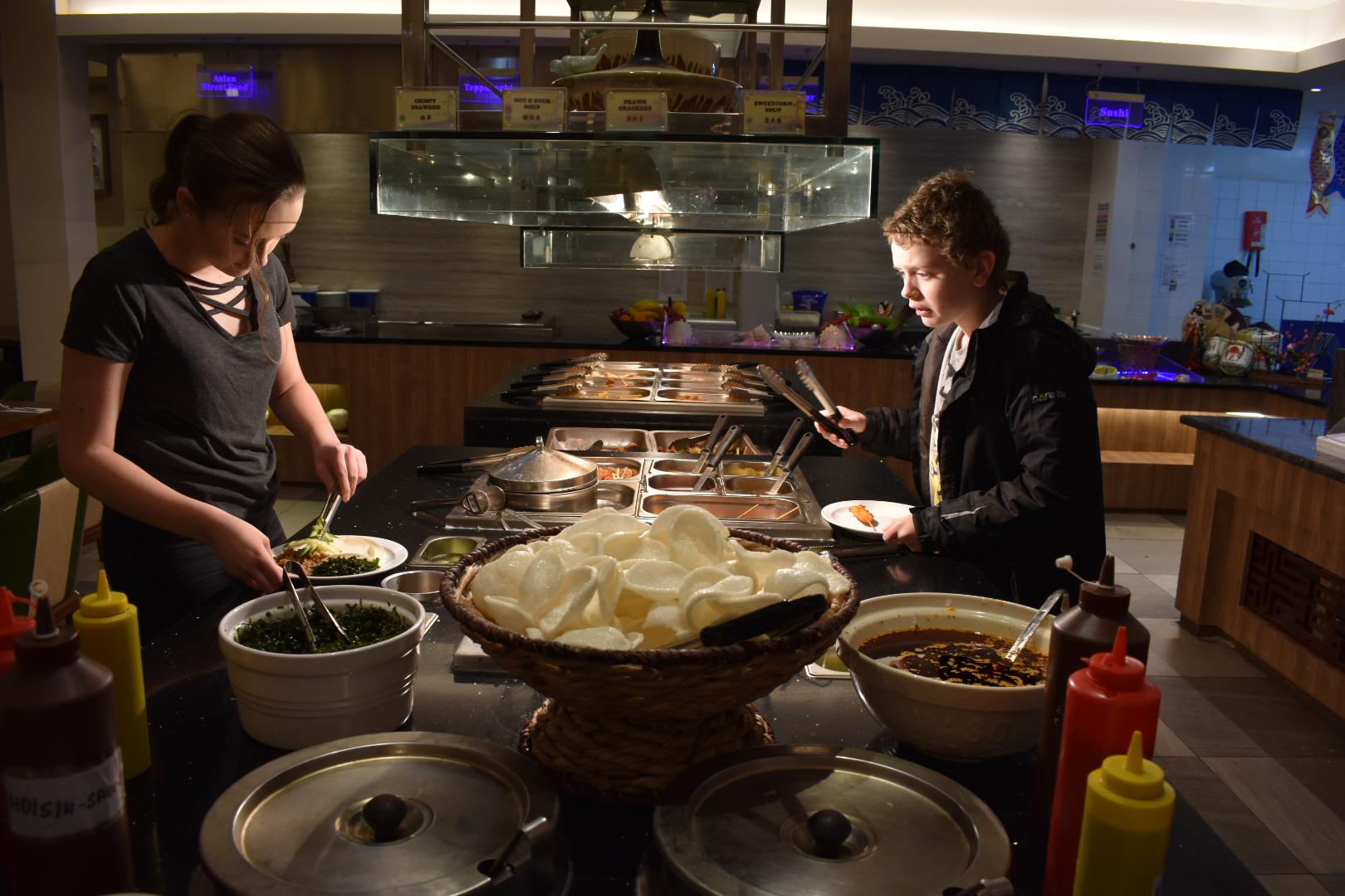 Kung Fu Oriental Buffet Restaurant, Southport.