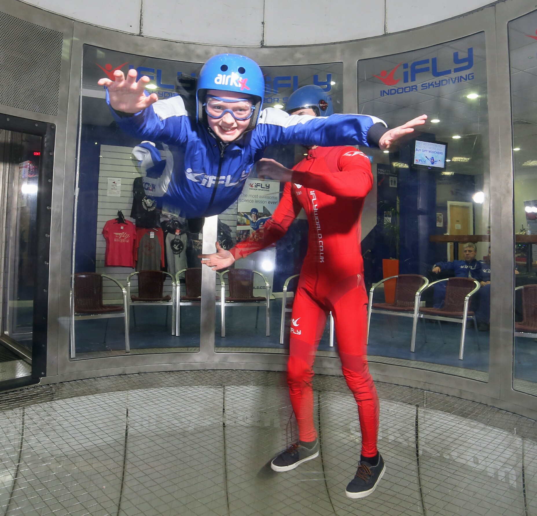 A Birthday adventure at IFly indoor skydiving!
