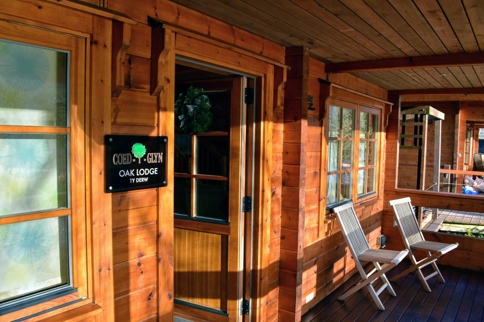 Coed-y-glyn Log Cabins, Glyndyfrdwy, Wales