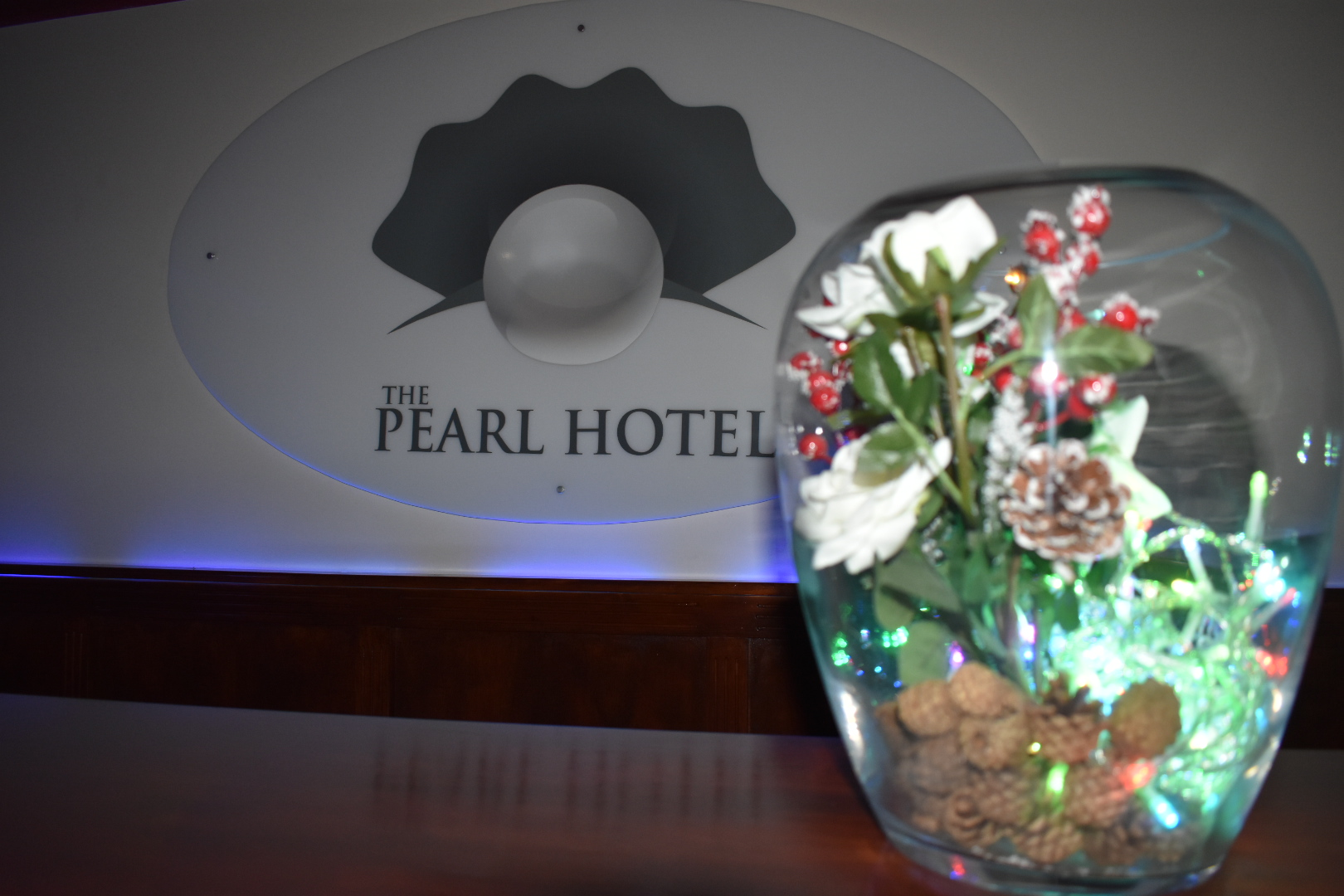 The Pearl Hotel, Peterborough, UK with room service from the Tavan Moroccan and Turkish Restaurant.
