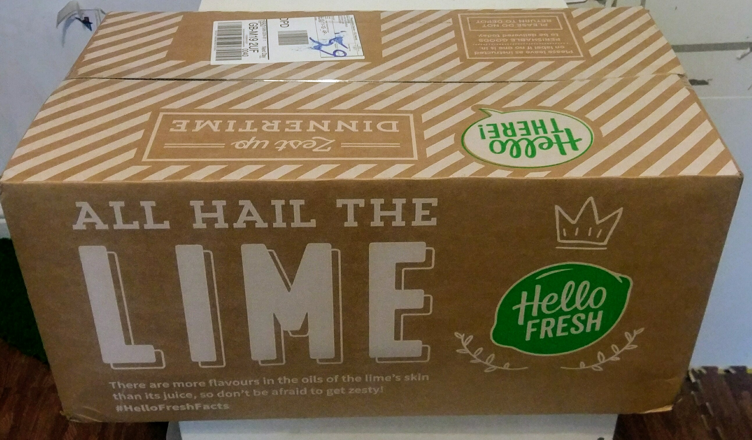 Our review of the Hello Fresh family food box